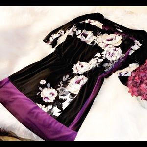 WHITE HOUSE BLACK MARKET Floral Mini Dress